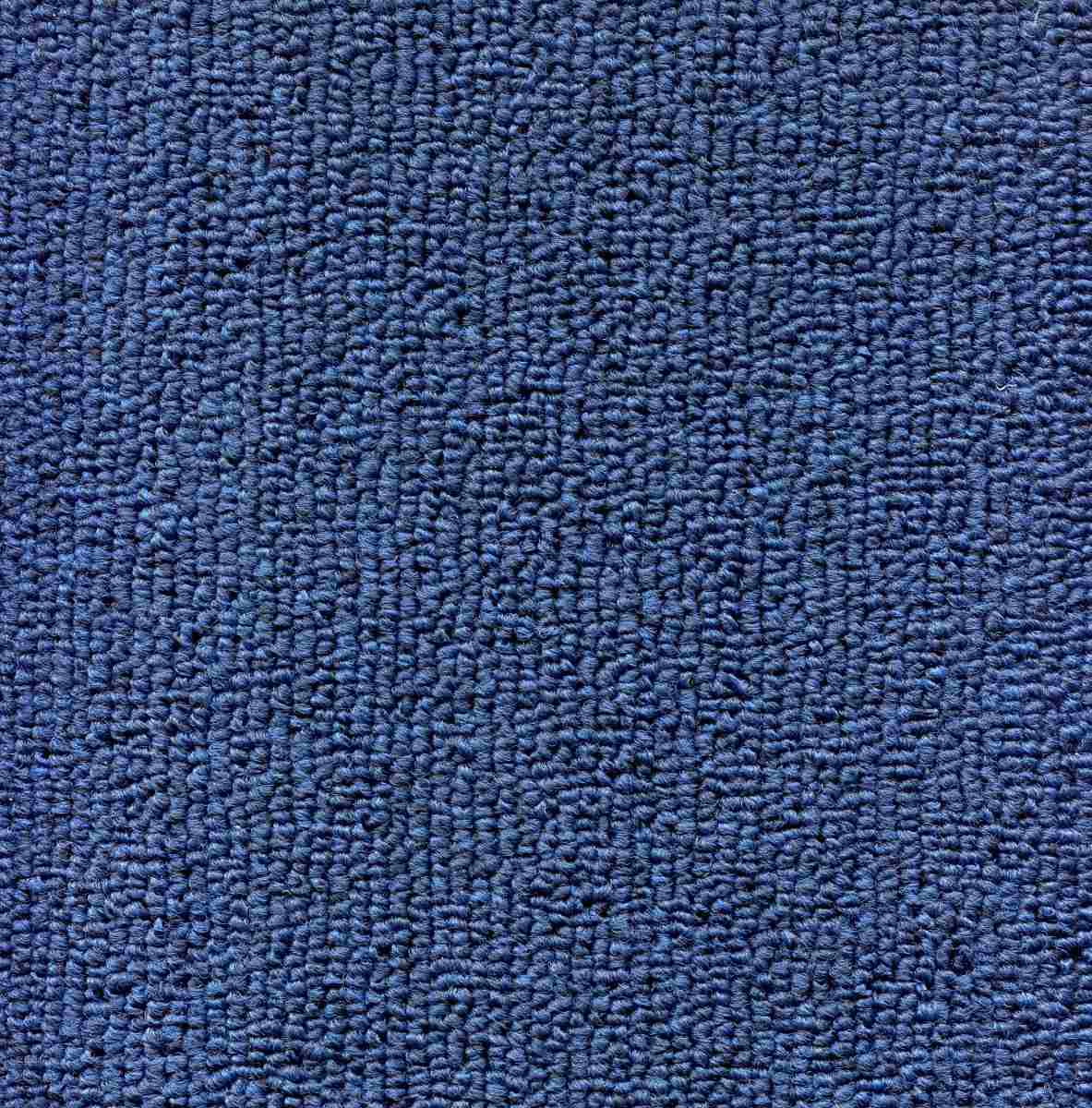 Alfombra Estilo Beaulieu Color Azul Metro Cuadrado